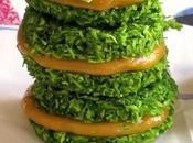 Macarons couleur gazon