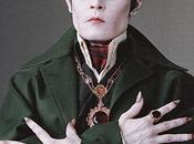 Johnny Depp. Dark Shadows nouvelles photos