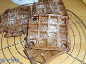Gaufres cacao légères yaourt