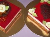 Entremet mousse chocolat framboise