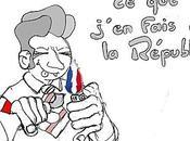 pleine campagne présidentielle, Nicolas flying m'oubliez Sarkozy