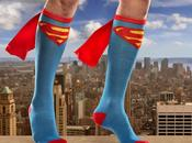 chaussettes capes superman