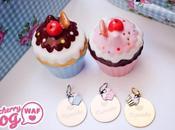 médailles pour chiens Cherry Cupcake Sweet