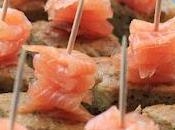 Tortilla chips saumon fumé