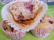 muffins fraises citron