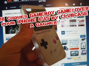 [Concours] Coques GAMEBOY GAME©OVER pour IPHONE 4/4S CLUBCASE Votre smartphone mode 8bits