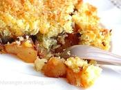 Crumble coco-pomme-choco