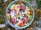 Salade mesclun Bresi Comté