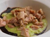 chevreau plats confit 80°, aulx français japonais