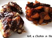 Ailes poulet sauce barbecue