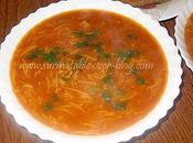 Soupe Tomate Vermicelles Express pour Tour Cuisine