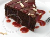 Gâteau chocolat purée d'amande/Pastel chocolate puré almendra