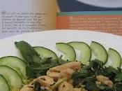 Salade poulet (laab gai) mode cuisine thaïe