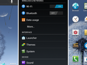 TouchWiz Portage pour Galaxy Nexus, Note