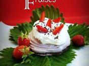 Mini Pavlova chocolat Fraises recette Sophie Dudemaine