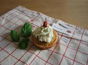 Cupcakes salés pesto-tomates séchées