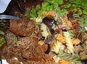 Salade tiède Fusilli Aubergines Tagliatelles sarrazin