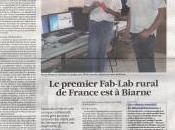 Voix Jura premier FabLab rural France Biarne