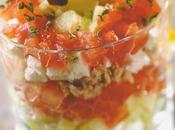 Tartare tomate, concombre chayotte féta