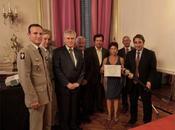 """Ville Grenoble lauréate Prix """"Soldat Montagne"""" 2012"""
