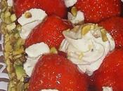 Tarte fraises chantilly pistache Michalak.