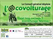 L'expérimentation Ecovoiturage Isère mois après