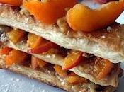 Millefeuille abricot frangipane praliné