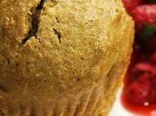 Petits gâteaux polenta matcha, fraises menthe poivrée