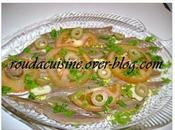 N'tchouba (Salade d'anchois l'algéroise)