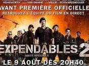 L'avant-première Expendables Paris live