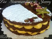Mille-feuilles Mangue/Passion