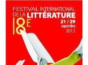 Programmation Festival international littérature