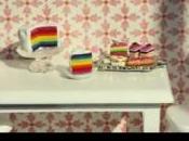 Tuto vidéo Rainbow cake