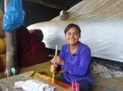 Artisan d'encens Cambodge