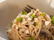 Spaghetti noix cajou truffes