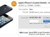 L'iPhone vente eBay pour plus 1000