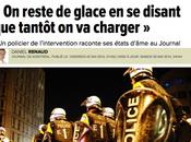 Manifestations Journal Montréal compatit avec police