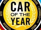 Election voiture l'année 2013 candidates