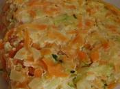 Flan légumes cancoillotte