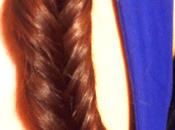 Tutoriel tresse brins (fishtail braid blé)