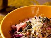 Salade chou rouge jambonneau