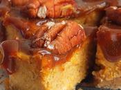Cheesecake citrouille, dulce leche noix pécan