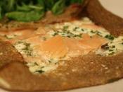 Galette bretonne saumon crème-ciboulette