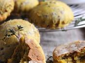 Scones potiron oignons caramélisés légumes d'automne rôtis