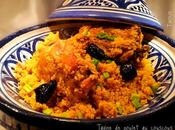 Tagine couscous poulet olives