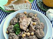 M'tewem marqua beida boulettes viande hachée l'ail sauce blanche