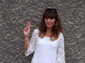 STYLE Robe dentelle blanche