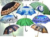 parapluies comme s'il pleuvait