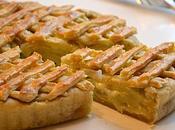 Tourte gourmande poireaux, pommes terre mozzarella