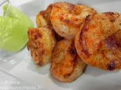 Avocat crevettes épicées